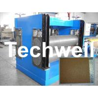 Wholesale Color Steel Embossing Machine For Garage Door, Refrigerator, Decorative Materials from china suppliers