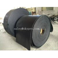 Wholesale Multi-ply black EP rubber conveyor belt abrasion and heat resistant from china suppliers