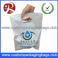 Wholesale Custom Boutique Die Cut Handle Plastic Bags,Plastic Shopping Bags Die Cut Handle from china suppliers