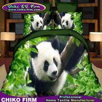 Wholesale Panda Design 100% Polyester 3D Printed Bedding Set Duvet Cover Set from china suppliers