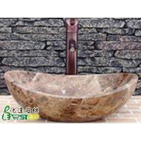 Buy cheap Dark Emperador Granite Stone Sink from wholesalers