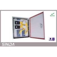 Wholesale Fiber Optic PLC Splitter with Wall Mount Box , Optical Fiber wall mount Box from china suppliers