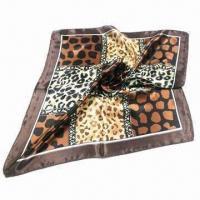 Wholesale Ladies Polyester Fashionable Scarf, Various Styles and Colors are Available from china suppliers