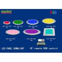 Wholesale 10W RGB LED Panel Light 800LM 180x180 mm RF Remote Control Surface Mounted from china suppliers