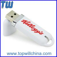 Wholesale Classic USB Thumb Drive Customized Pantone Color Logo Printing from china suppliers