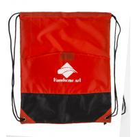 Wholesale Athletic Lightweight Polyester Drawstring Bag Cool Custom String Backpacks from china suppliers