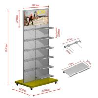 Wholesale Commercial 6 Tier Metal Hanging Display Racks Free Standing Garment Rack from china suppliers