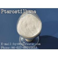 Wholesale Pterostilbene Natural Herbal Extracts Powder Health Supplements CAS 537-42-8 from china suppliers