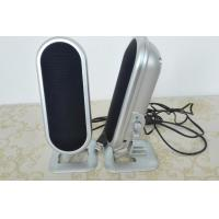 Quality Plastic 2.0 Stereo Computer Speakers With Volume Control USB Powered 4W for sale