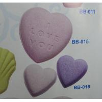 Wholesale Aromatherapy Experience Natural Heart Shape Bath Fizzer with Juniper from china suppliers