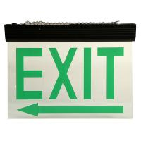 Wholesale Energy Saving Ceiling Mounted LED Aluminum Exit Sign With Acrylic Plate from china suppliers