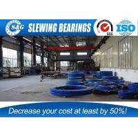 Wholesale CRANE T250M Slewing Ring Bearings , External Ring Gear With Surface Quench Hardening from china suppliers