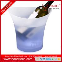 Wholesale LED Lighted Ice Bucket Color Changing Drinking Wine Champagne KTV Buckets from china suppliers