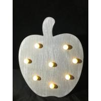 Wholesale holiday fruit shaped apple light decoration kids bedroom night light from china suppliers