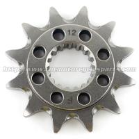 Wholesale 20CrMnTi Steel Dirt Bike Front Sprocket from china suppliers