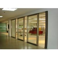 Wholesale Office Folding Glass Block Partition Walls 680 / 1230 Width 2000 / 4500 Height from china suppliers