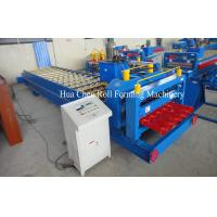 Wholesale Roman Type Popular Glazed Tile Roll Forming Machine / Cold Roll Forming Machine from china suppliers