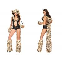 Wholesale Wild West Fancy Dress Adult Princess Costume , Sexy Lil Leopard Costume Romper from china suppliers