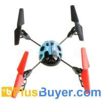 Wholesale Beetle 4 Channel RC Remote Control Helicopter with 2.4G Transmitter - Blue from china suppliers
