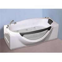 Wholesale 1800MM Small Portable Hot Tubs , Single Person Freestanding Whirlpool Tub With Light from china suppliers