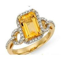 Wholesale Ring(Citrine ring) from china suppliers