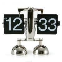 Wholesale best price flip over clock libra flip clock ,metal table clock from china suppliers