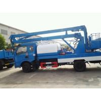 Wholesale Best price dongfeng brand 4*2 aviation platform with water truck for sale, HOT SALE! dongfeng 12-24m aerial bucket truck from china suppliers