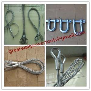 Wholesale Non-conductive cable sock,Fiber optic cable sock,Pulling grip,Cable Pulling Sock from china suppliers