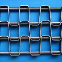 Wholesale Flat Wire Mesh Belt (FW - 24.0 - 27.3 - 5.0 - 1.5X12.7 - H) from china suppliers