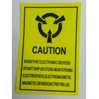 Wholesale Eco Friendly Custom Warning Stickers , Caution Shipping Labels Rectangle from china suppliers