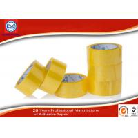 Wholesale 48mm Carton Sealing BOPP Packing Tape , Clear Yellowish Adhesive Tape from china suppliers