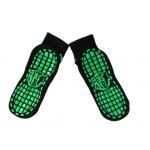 China Get Air Trampoline Park Family Fun Toddler Safety Grip Socks , Kids Non Slip Socks , Knitting Jumping Socks for sale
