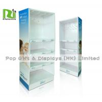 Wholesale 3 Layers Custom Retail Pdq Corrugated Sidekick Displays With Plactic Hook from china suppliers