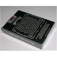 Buy cheap Paper Invisible Jack Daniel's Marked Barcode Playing Cards For Poker Reader and Scanners from wholesalers