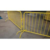 Wholesale Hot-Dipped Galvanized Pedestrian barriers@Pedestrian Barriers, Used Crowd Control Barriers, Crowd Control Barricade from china suppliers