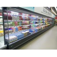 Wholesale Supermarket Vegetable Multideck Open Chiller / Display Refrigerator Energy Saving from china suppliers