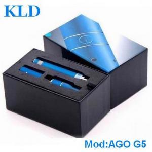 Buy cheap Classical dry herb vaporizer e cig AGO G5 650mah LCD eGo battery ecigator ecig from wholesalers