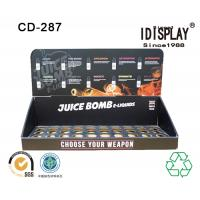 Wholesale Cardboard Retail Store E-liquid Juice Countertop Display Cigarette Display Rack Cabinet from china suppliers
