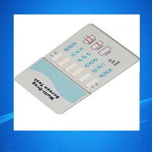 Quality Drug Test Kits/Six Panel Multi Drug Abuse Test Kits for sale
