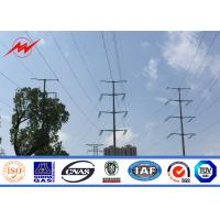 Wholesale polygonal or conicla high voltage Electrical Power Pole for transmission line from china suppliers