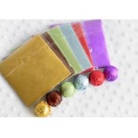 China Aluminum Alloy Foil Wrapping Paper For Chocolate And Candy Wrapping Colorful on sale