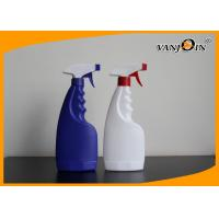 Wholesale White / Blue 500ml Plastic Clearing Bottles with Trigger Sprayer from china suppliers
