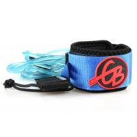 Wholesale Environment Friendly SUP SurfBoard Leash, Surf Board Leashes polyester, PU cord from china suppliers
