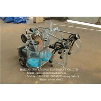 Wholesale Plastic Buckets Milking Machine With Measuring Calibration , Mobile Milking Machine from china suppliers
