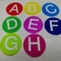 Wholesale Fire Retardant Hook And Loop Tape Cute Carpet Markers For Classroom from china suppliers