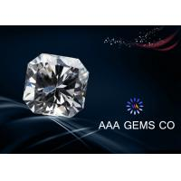 Wholesale VVS1 Lab Diamond Asscher Cut Moissanite Colorless Polished Good from china suppliers