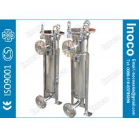 Wholesale BOCIN High Pressure Single Bag Filter Housing Stainless Steel With PE Filter Bag from china suppliers