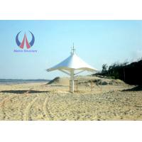 Quality Steel Sling Elasticity Sail Commercial Canopy Structure For Coast  And Shore for sale