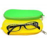 Wholesale Wholesale Promotional Ladies Handle Silicone Glass Bag/Silicone Cosmetic Bag with Zipper from china suppliers