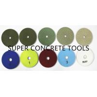 Buy cheap 5 Steps Wet Use Resin Bond Diamond Polishing Discs Pads Kits System Sets from wholesalers